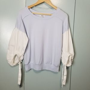 Kensie Jeans baby blue oversized top size M -P1